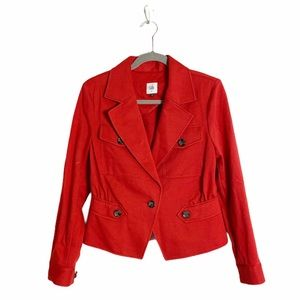 Cabi little red jacket size 6 style #3374
